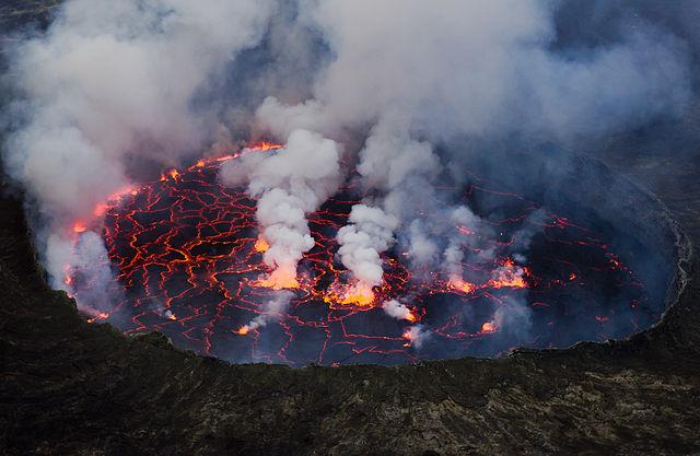 Vulcani – diversi tipi di eruzione
