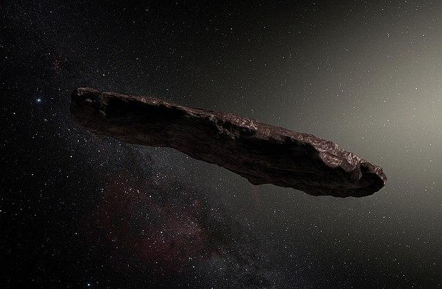 'Oumuamua, il visitatore dallo spazio profondo