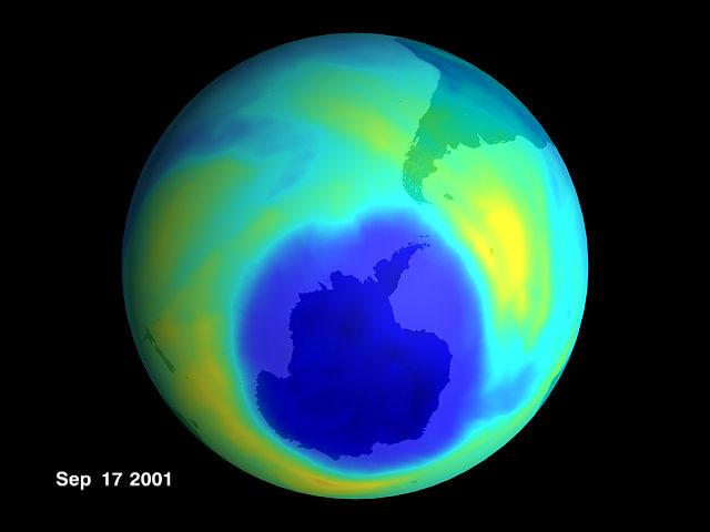 """Migliora la salute dell'ozono: """"buco"""" ridotto del 20%"""